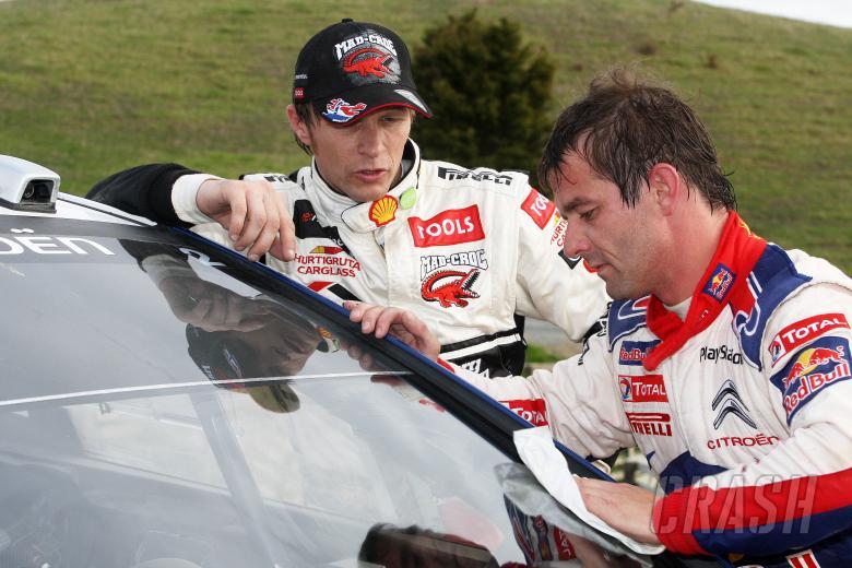 Sebastian Loeb (F) & Petter Solberg (N)