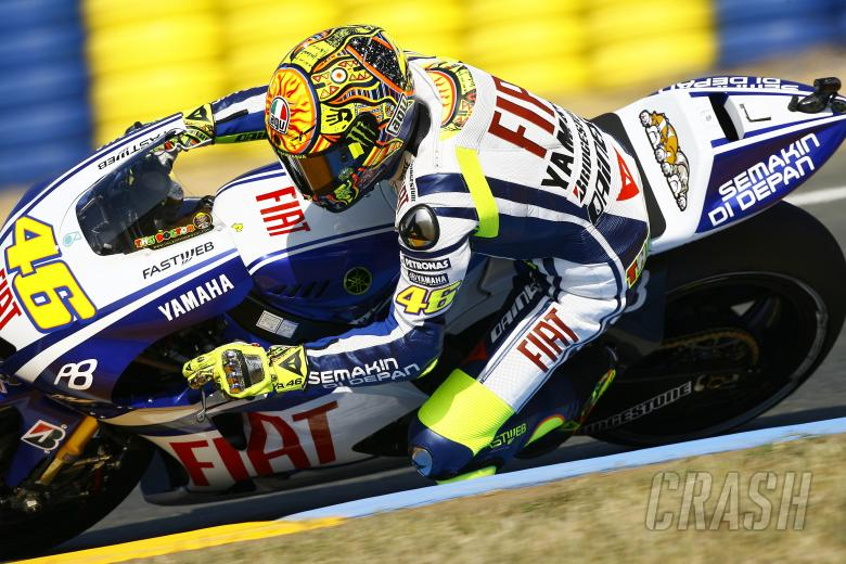 , - Rossi, French MotoGP 2010