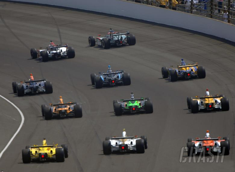 15-21 MAY, 2010, Indianapolis, Indiana, USA Parade lap in turn two.