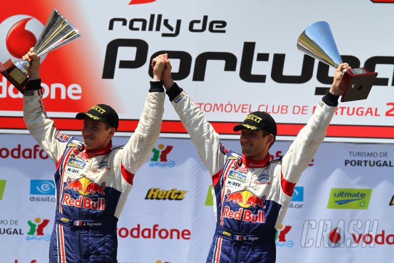Podium, Sebastien Ogier (F) Julien Ingrassia (F) Citroen C4 WRC, Citroen Junior Team