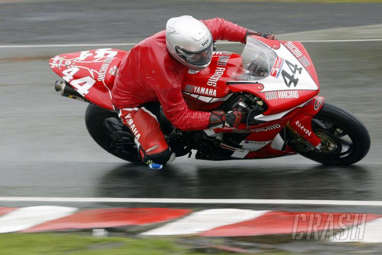 , - 30.4.05British Superbike Championship, Round 4, Oulton Park, Cheshire.John McGuinness, AIM Yamaha Ra