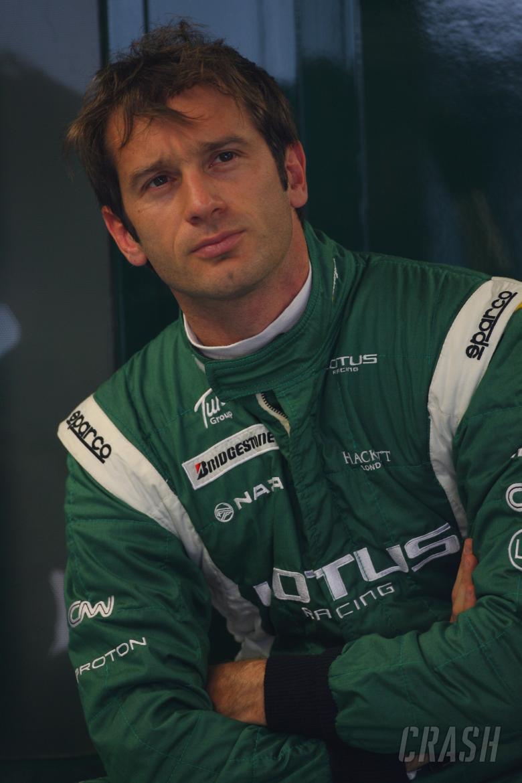 Friday Practice 1, Jarno Trulli (ITA), Lotus Racing, T127