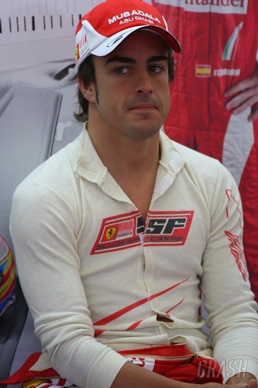 Friday Practice1, Fernando Alonso (ESP), Scuderia Ferrari, F10
