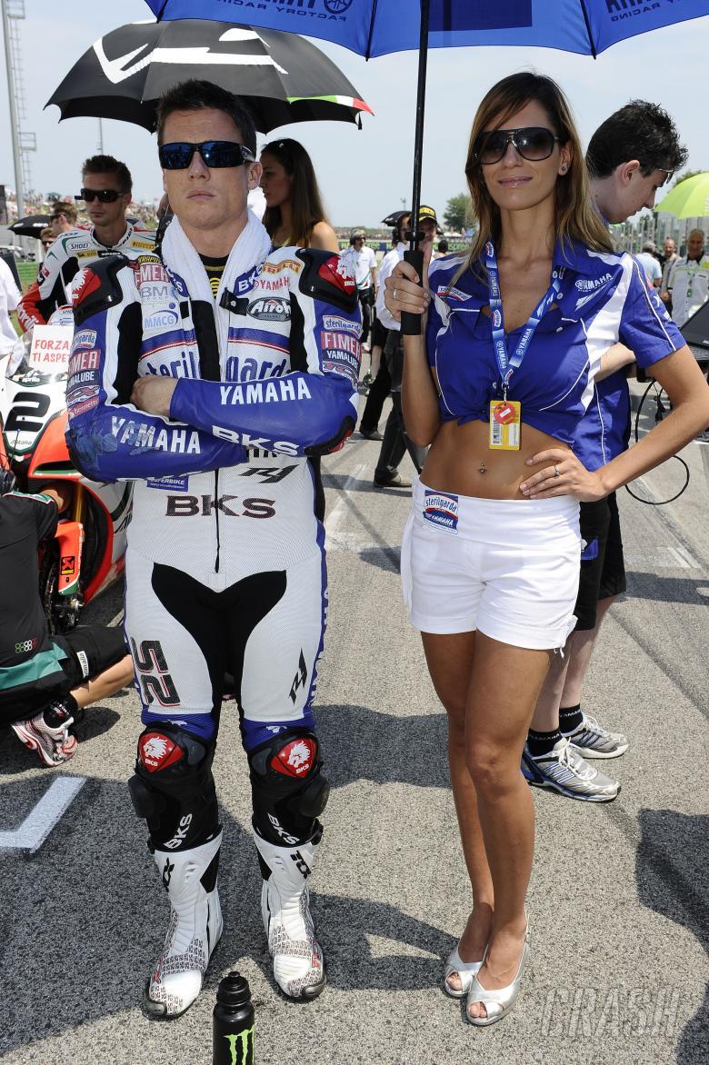 , - Toseland, Misano WSBK Race 1 2010