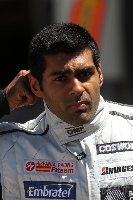 Friday Practice 2, Karun Chandhok (IND), Hispania Racing F1 Team (HRT), F110
