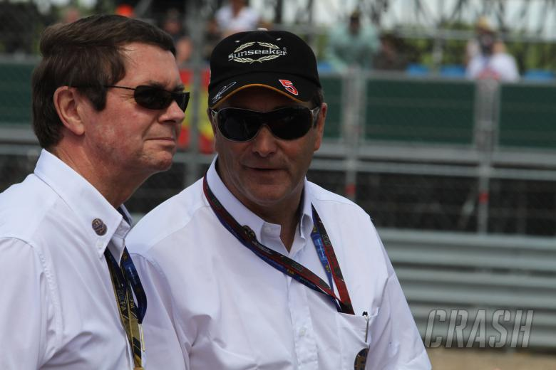 , - Race, Nigel Mansell (GBR) FIA Race Steward this weekend and Garry Connelly