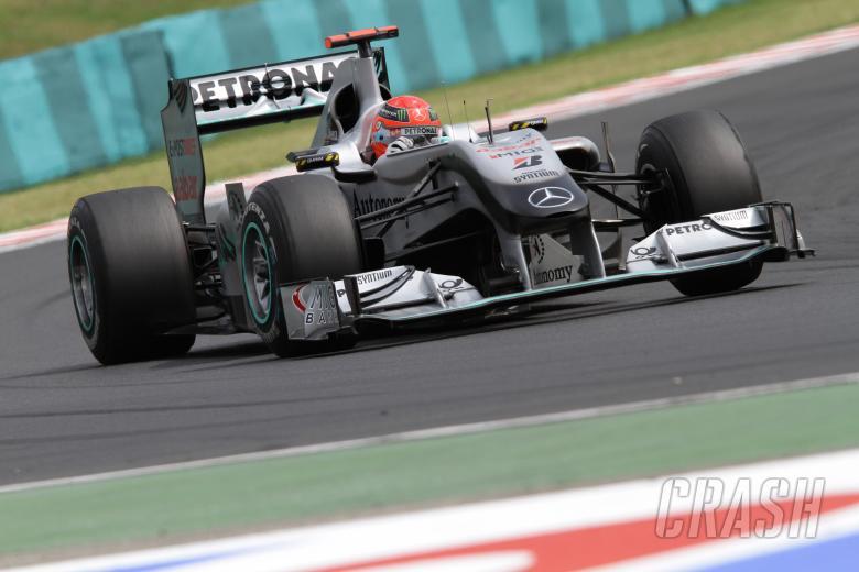 Michael Schumacher (GER), Mercedes GP F1 Team, MGP W01