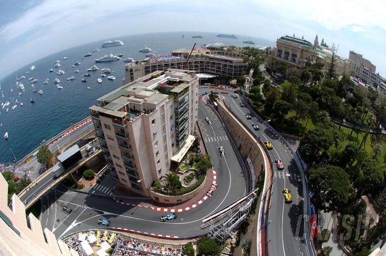 The start of the Monaco GP