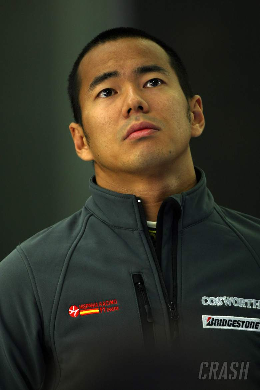 Sakon Yamamoto (JPN), Hispania Racing F1 Team (HRT), F110