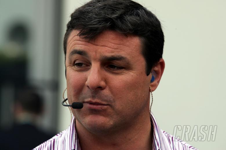 , - Crash.net columnist Mark Blundell on ITV F1 duty at the European Grand Prix