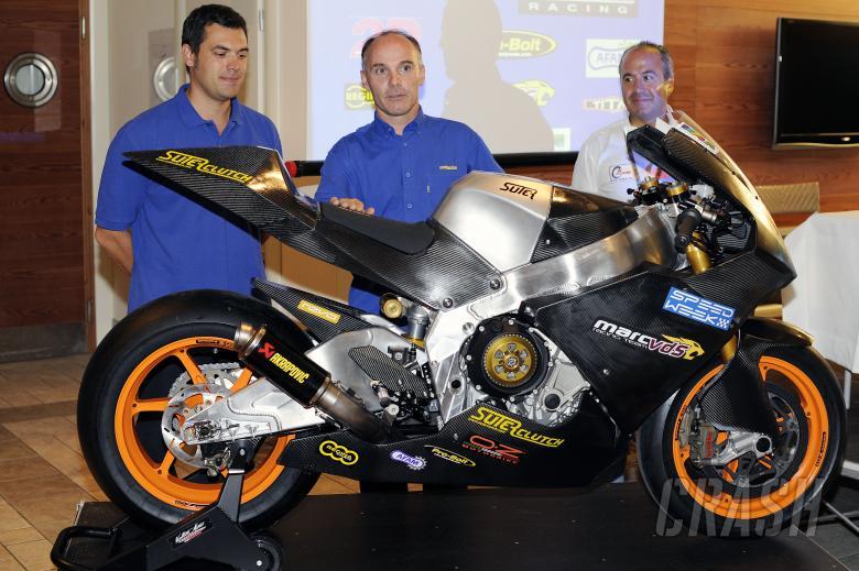 Suter-BMW 'Moto1' bike makes test debut