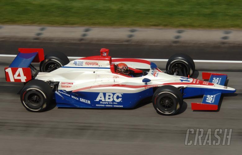 , - A.J. Foyt IV, AJ Foyt Racing Dallara-Toyota, Indianapolis Motor Speedway 2005.