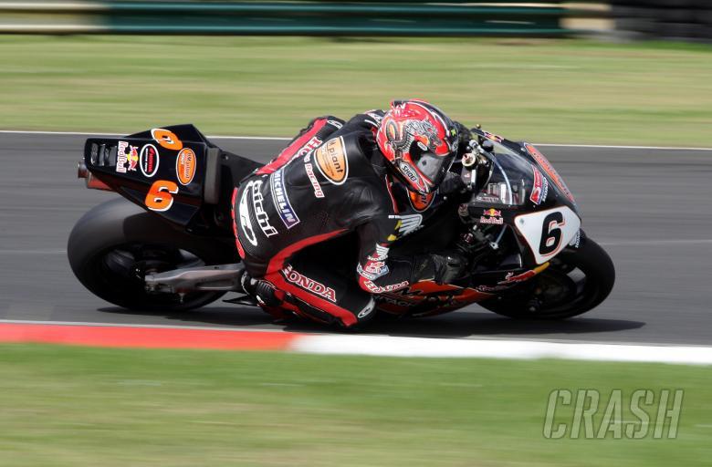 , - British Superbike Championship. Round 6, Croft.BSB Qualifying.Ryuichi Kiyonari, HM Plant Honda