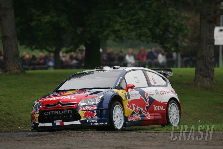 , - Sebastien Loeb (FRA) Daniel Elena (MON), Citroën C4, Citroën Total World Rally Team