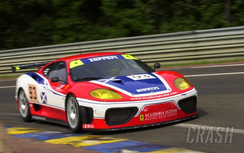 Kirkaldy/Kinch/Reid - Scuderia Ecosse Ferrari 360 GTC