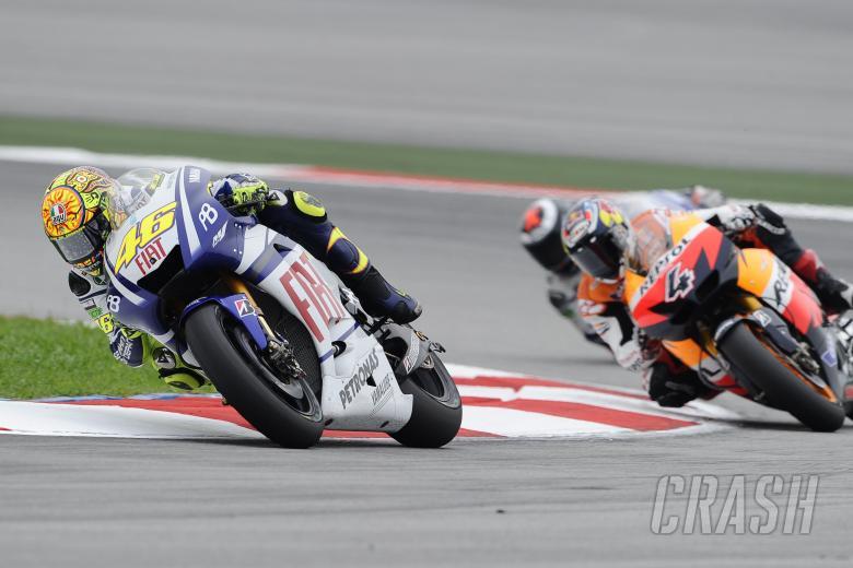 , - Rossi, Malaysian MotoGP Race 2010