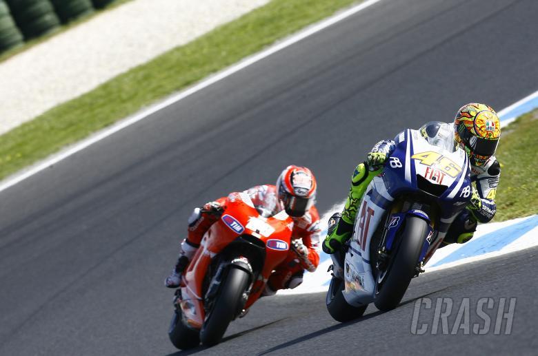 Rossi, Australian MotoGP 2010