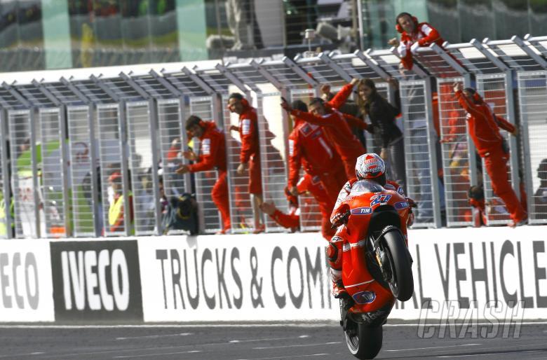 Stoner, Australian MotoGP 2010