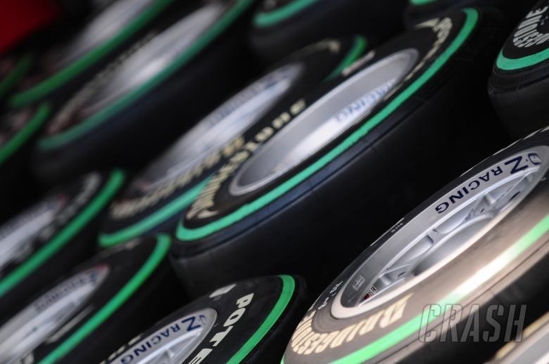 Thursday, Bridgestone tyres