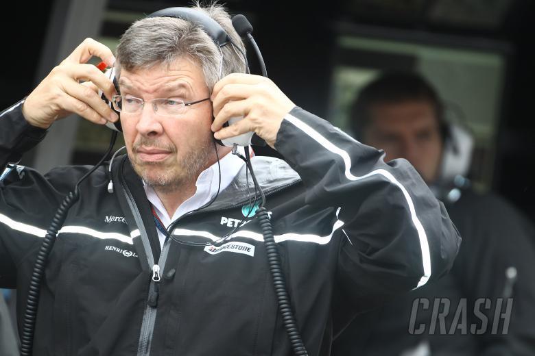 Saturday Practice, Ross Brawn (GBR), Team Principal, Mercedes GP