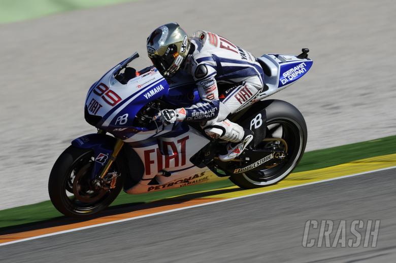 Lorenzo, Valencia MotoGP 2010