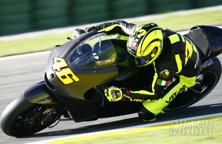 Rossi, Valencia MotoGP test, November 2010