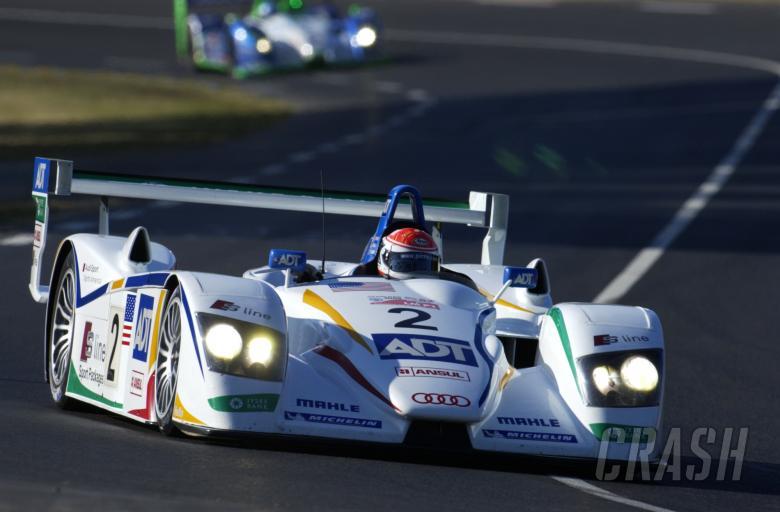 Pirro/Biela/McNish, Champion Racing, Audi R8, Le Mans 24 Hours, 18/06/05