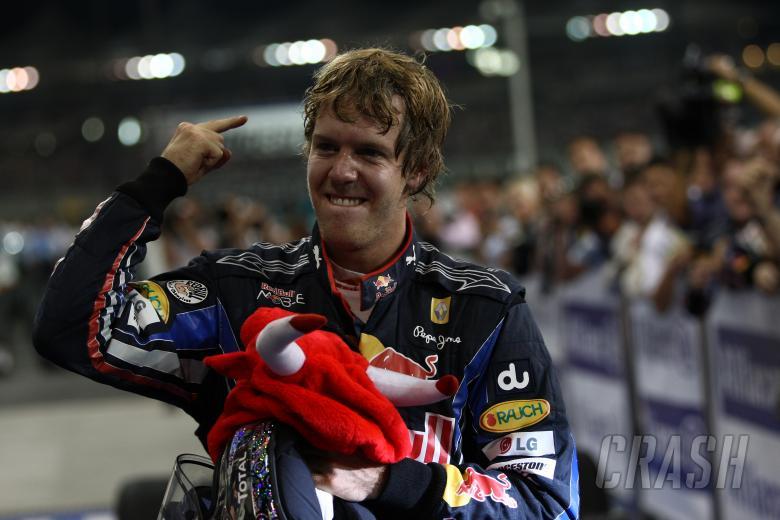 Race, Sebastian Vettel (GER), Red Bull Racing, RB6 race winner and 2010 Champion