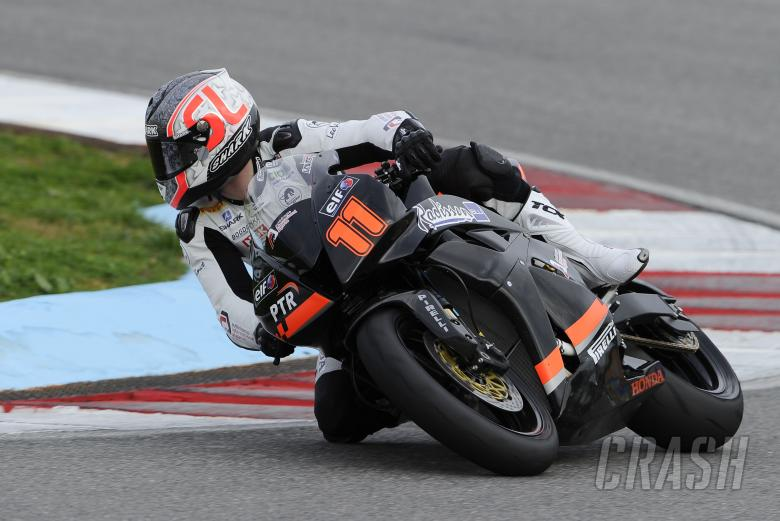 Sam Lowes, Portuguese January WSS Test 2011