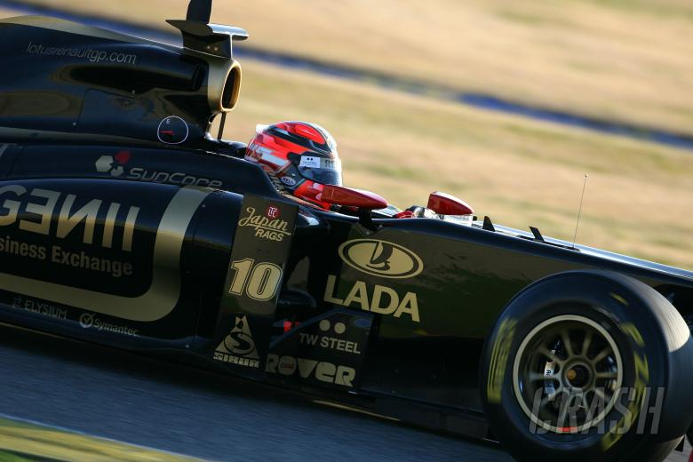 Robert Kubica (POL), Lotus Renault GP, R31