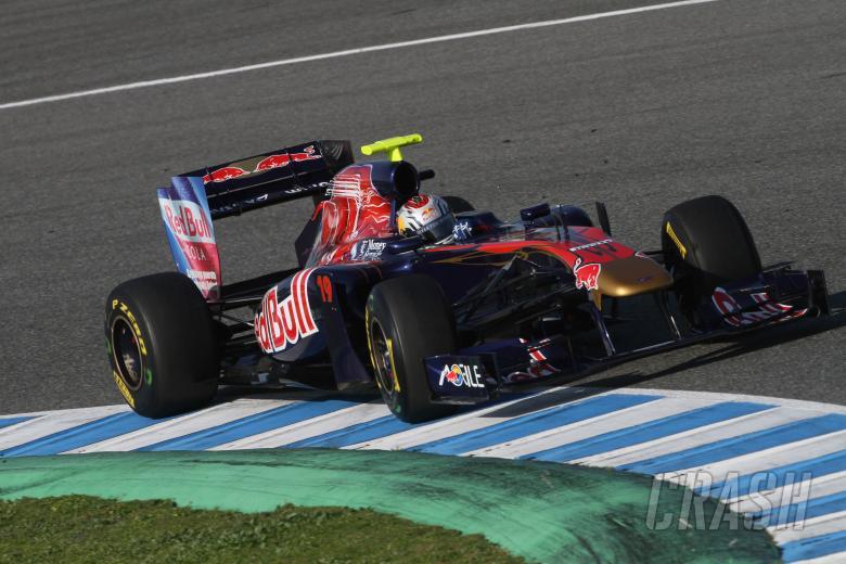 10/2/2011- Jaime Alguersuari (SPA), Scuderia Toro Rosso, STR6