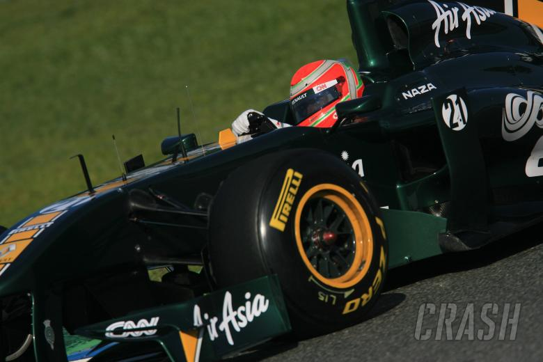 11/2/2011- Jarno Trulli (ITA), Team Lotus, TL11