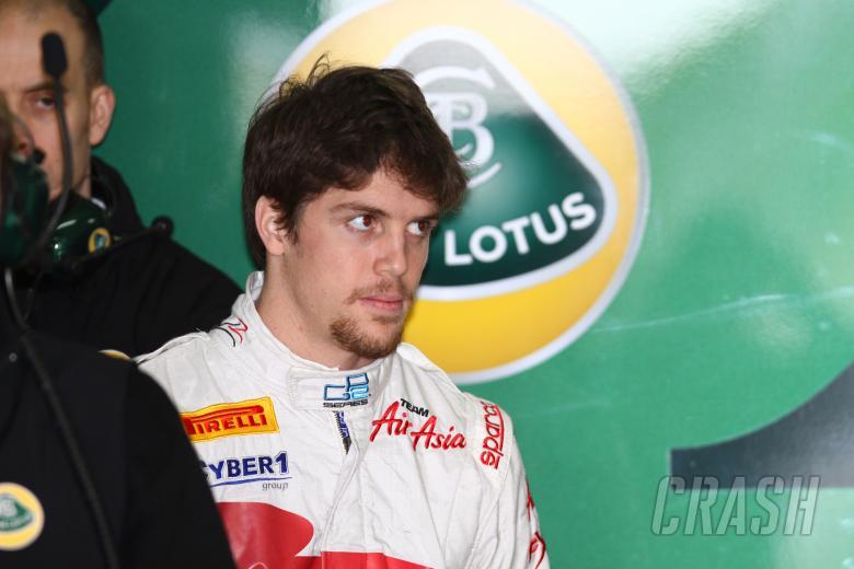 08.03.2011- Luiz Razia (BRA), Test Driver, Team Lotus, TL11