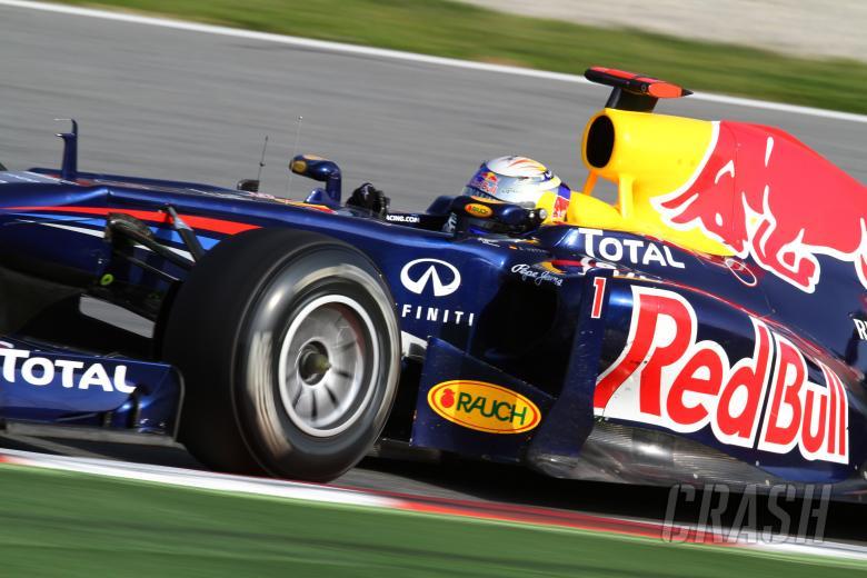 09.03.2011- Sebastian Vettel (GER), Red Bull Racing, RB7