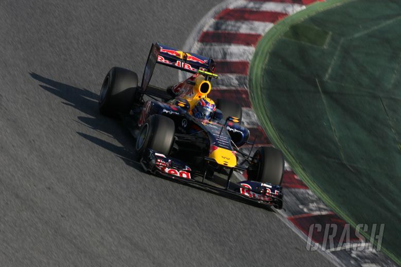 10.03.2011- Mark Webber (AUS), Red Bull Racing, RB7