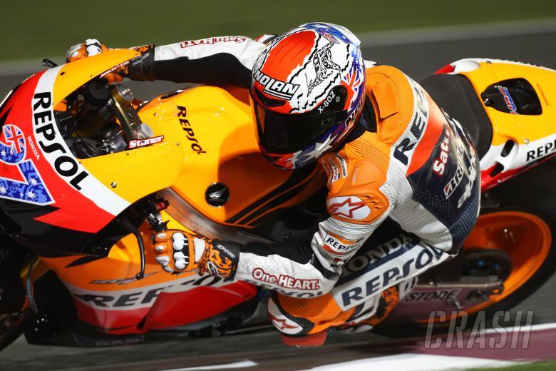 Stoner, Qatar MotoGP tests, March 2011