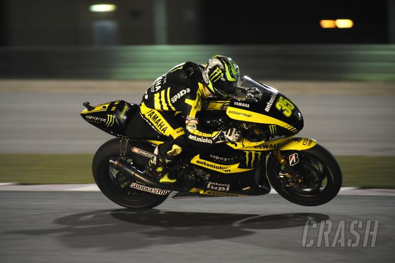 Crutchlow, Qatar MotoGP Test March 2011