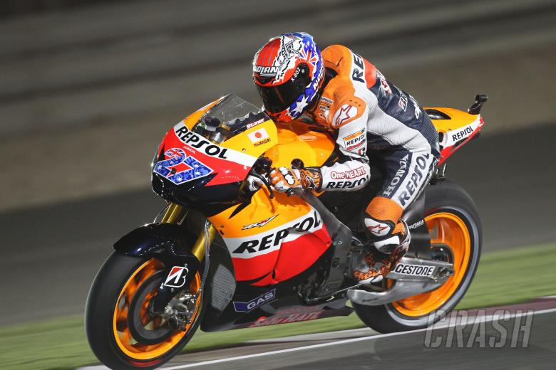 Stoner, Qatar MotoGP 2011