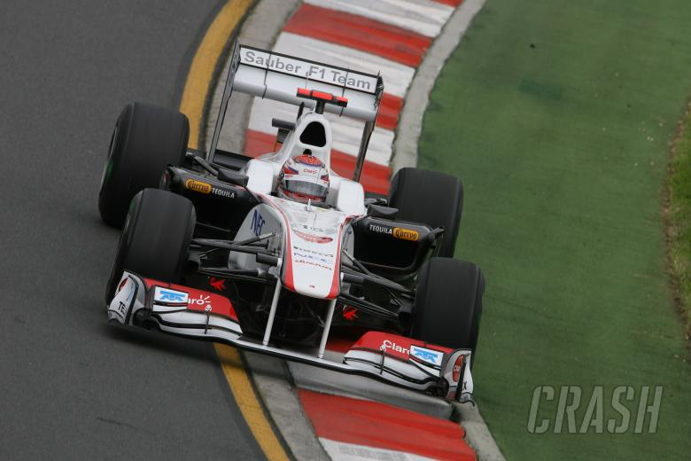 25.03.2011- Friday Practice 1, Kamui Kobayashi (JAP), Sauber F1 Team C30
