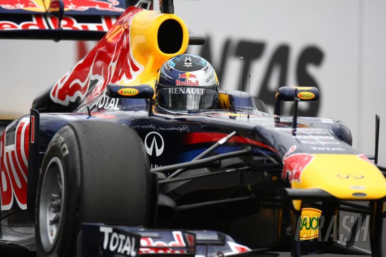 25.03.2011- Friday Practice 1, Sebastian Vettel (GER), Red Bull Racing, RB7