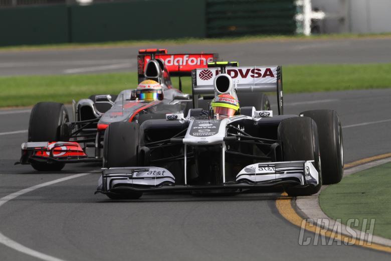 25.03.2011- Friday Practice 2, Lewis Hamilton (GBR), McLaren Mercedes, MP4-26 and Pastor Maldonado