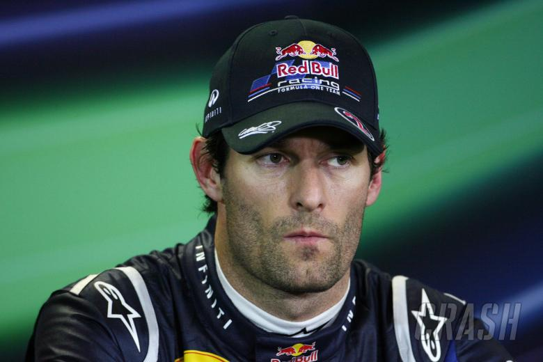 26.03.2011- Qualifying, Press conference, Mark Webber (AUS), Red Bull Racing, RB7