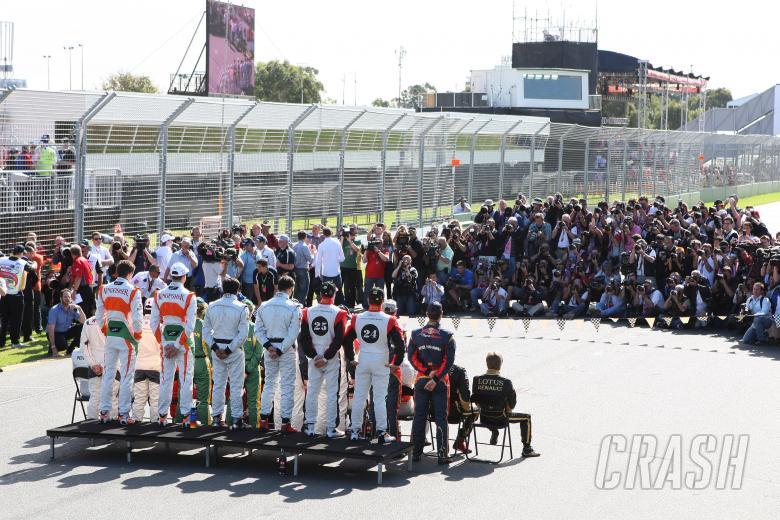 27.03.2011- 2011 F1 drivers