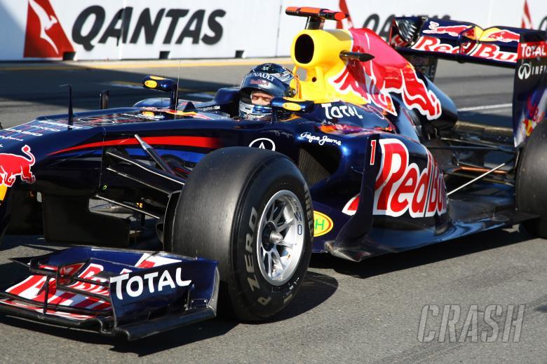 27.03.2011- Race, Sebastian Vettel (GER), Red Bull Racing, RB7