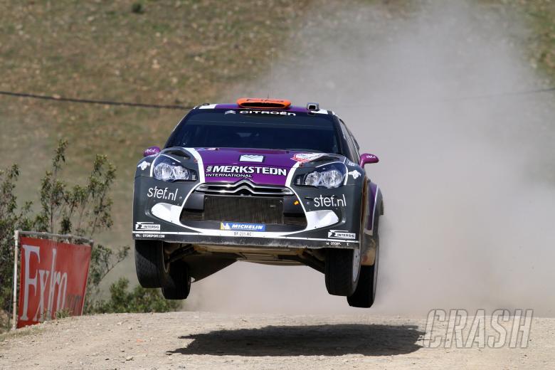 Peter Van Merksteijn Jr. (NL) Eddy CHevaillier (BEL), CITROEN DS3 WRC