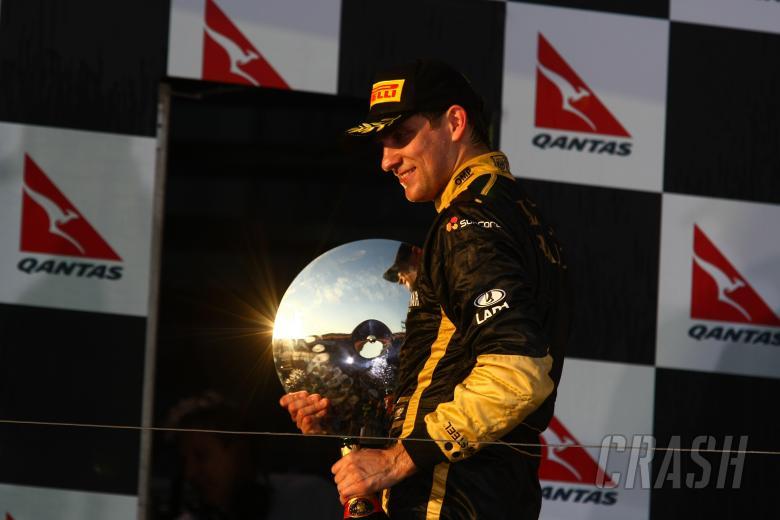 27.03.2011- Race, Vitaly Petrov (RUS), Lotus Renault GP, R31 3rd position