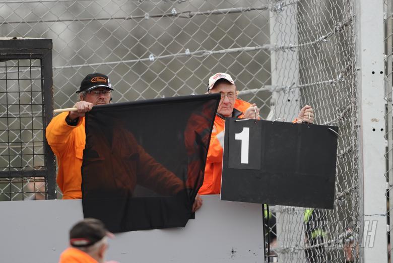 Biaggi, Black flagged, Donington WSBK Race 2 2011