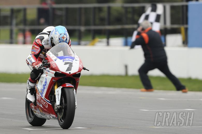 Checa, wins, Donington WSBK Race 2 2011