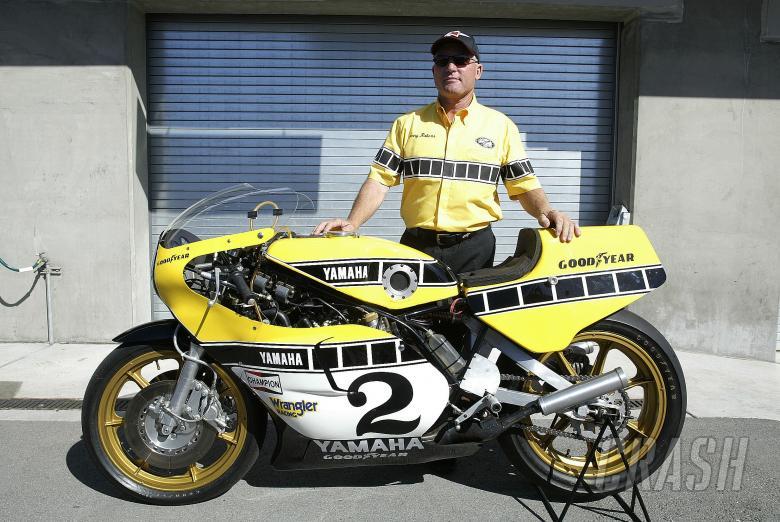 Kenny Roberts Snr With Yamaha TZ750, US MotoGP, 2005