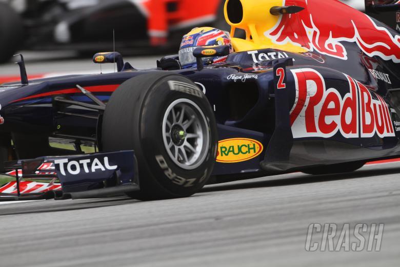 08.04.2011- Friday Practice 1, Mark Webber (AUS), Red Bull Racing, RB7